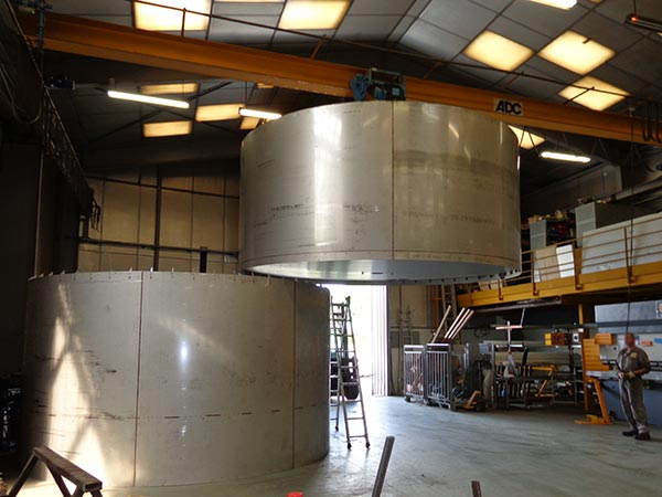 fabrication cuverie